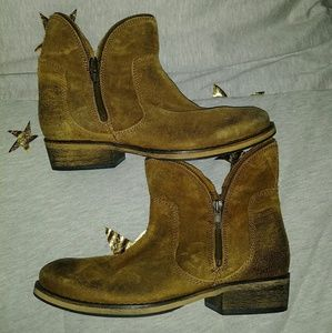 Bronx Leather Ankle Boots